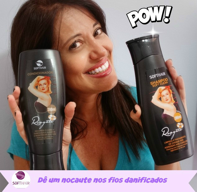 Linha Resgate Divas Soft Hair 1
