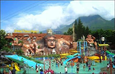 objek wisata Jawa Timur Park di Malang