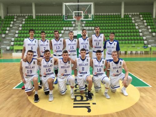 Εθνική Εφήβων: Βουλγαρία-Ελλάδα 73-81 (φιλικός αγώνας προετοιμασίας)