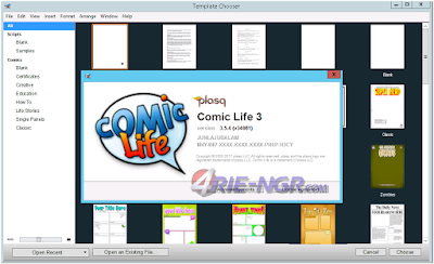 Comic Life 3.5.4 Terbaru Full Version