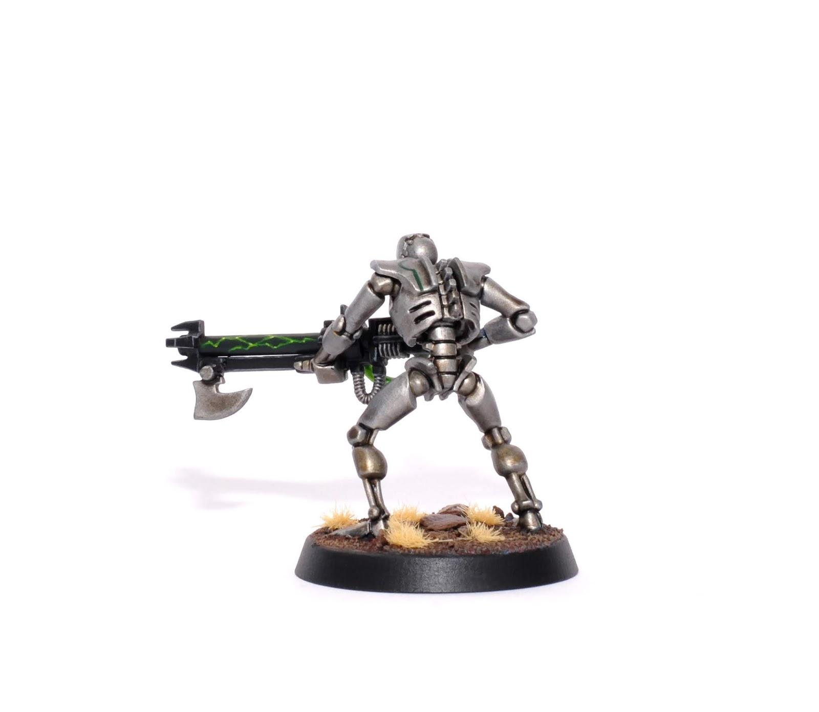 40K Necrons /_Necron Warrior Single Figure Blind Buy Bits