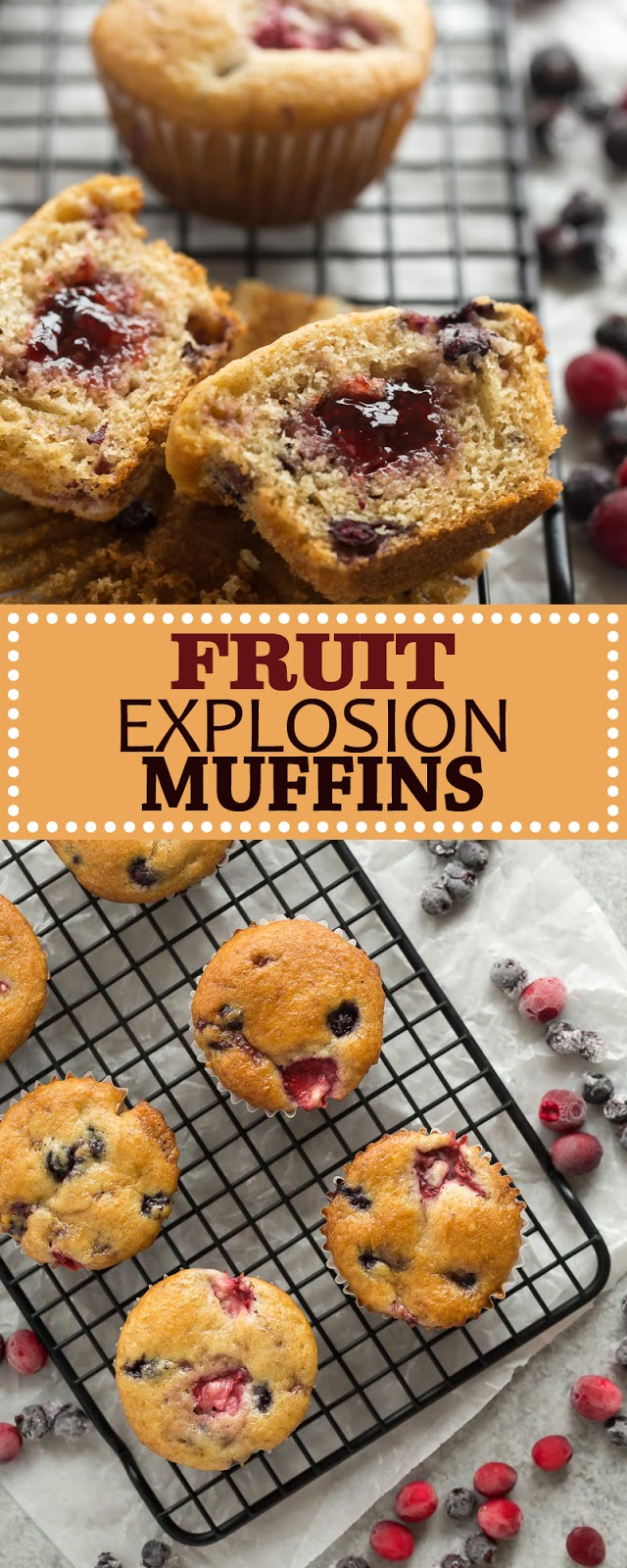 FRUIT EXPLOSION MUFFINS
