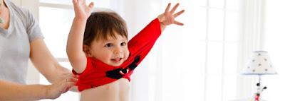 Pastikan anak salin baju bersih sebelum masuk tidur