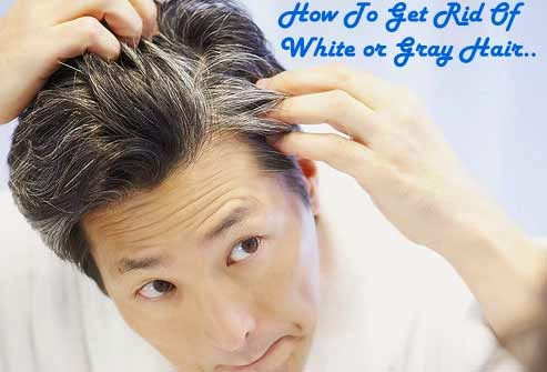 white hair to black hair natural remedy