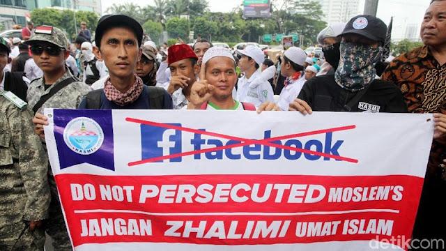 FPI: Kami belum Ingin Boikot, Facebook Masih Punya Andil Besar
