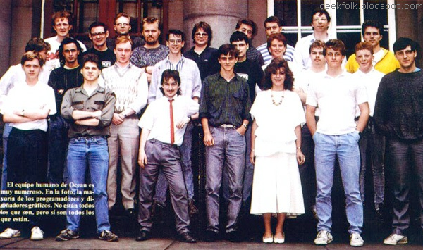 The Ocean In House Development Team, 1988