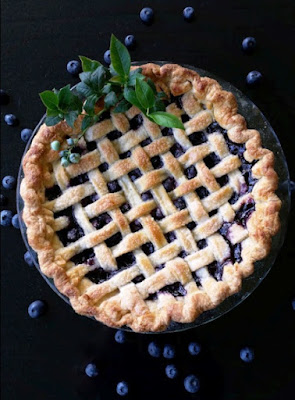 Blueberry Tart-Pie