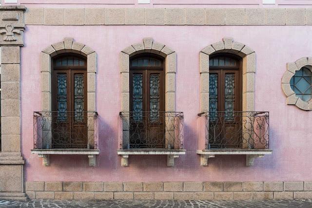 A residência de David Carneiro