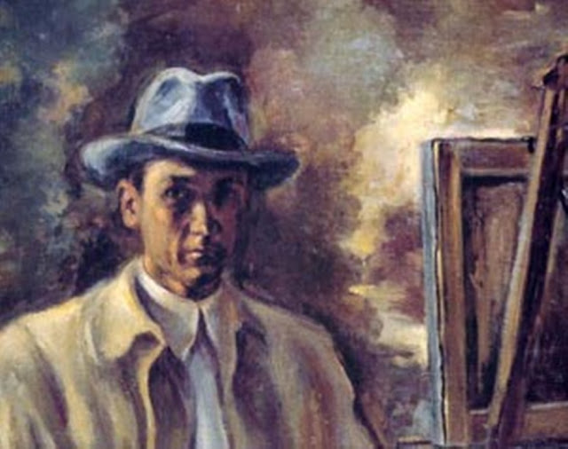 Luis Garay, Self Portrait, Portraits of Painters, Fine arts