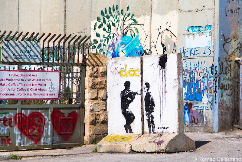 Banksy Street Barrier Half-Day Tour of Bethlehem Jesus Birthplace