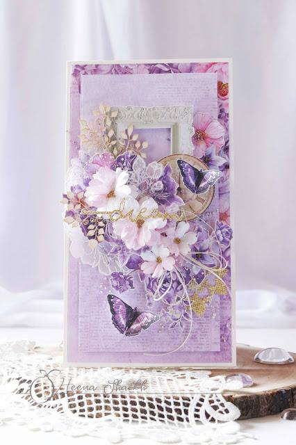Wiosna na niebiesko i fioletowo / Spring in purple and blue