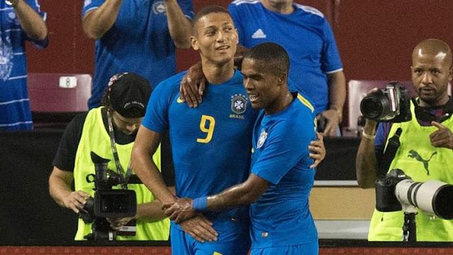 Richarlison El Salvador 0 - 5 Brazil
