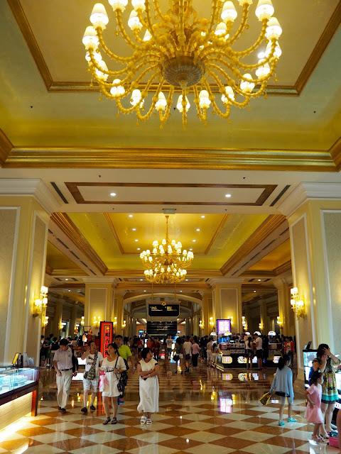 Interior hallway of The Venetian, Macau