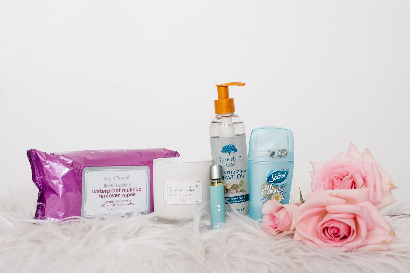 Pink Roses, Essential Oils, Deodorant