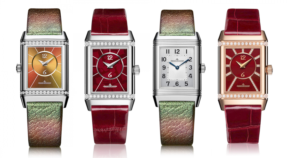 Christian Louboutin X Jaeger-LeCouture Reverso watch collection