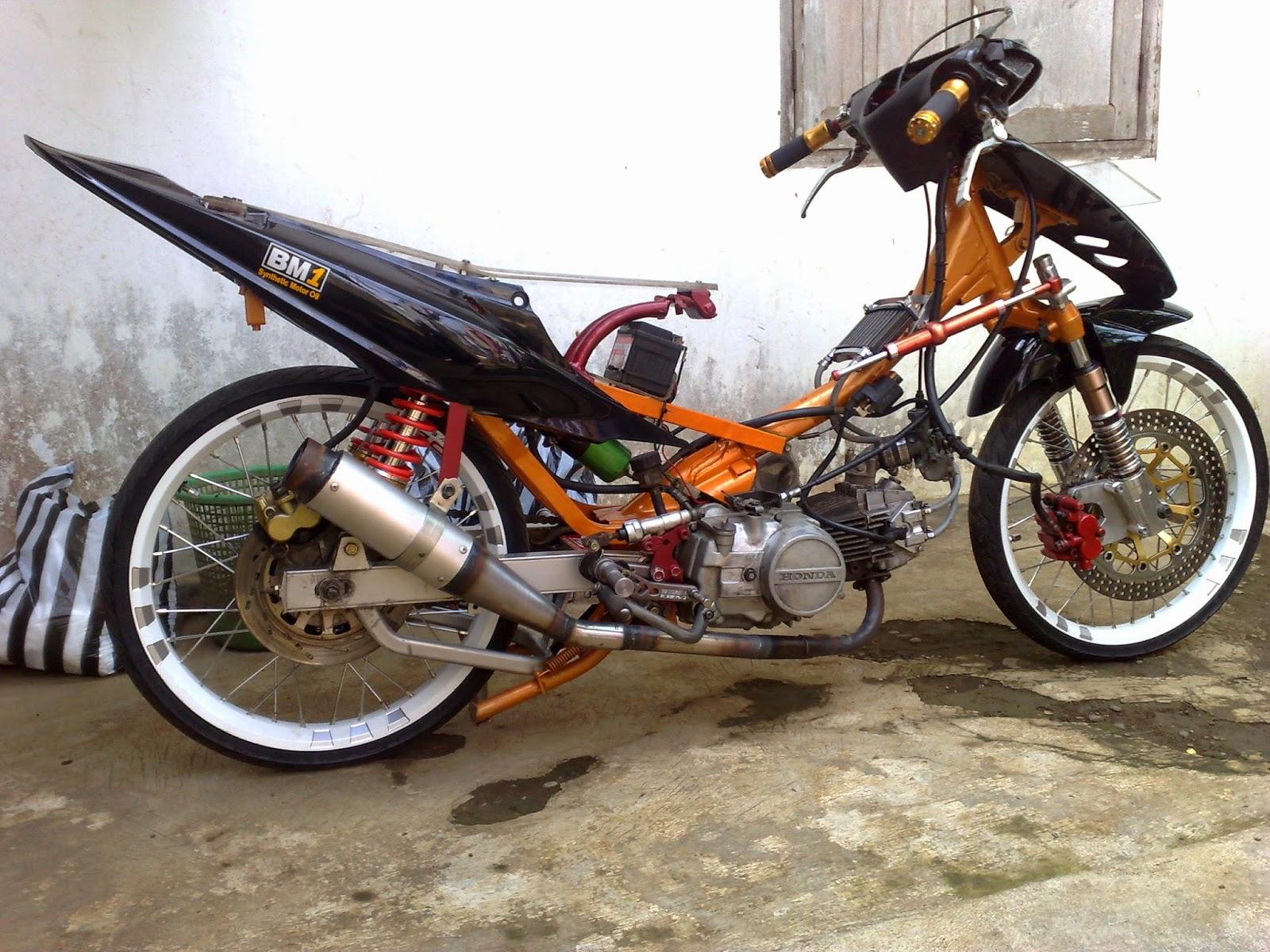 Kumpulan Cara Modifikasi Motor Supra X 110 Terlengkap