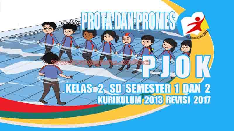 Prota Dan Promes Pjok Kelas 2 Sd Kurikulum 2013 Revisi 2017 Gurusd Id