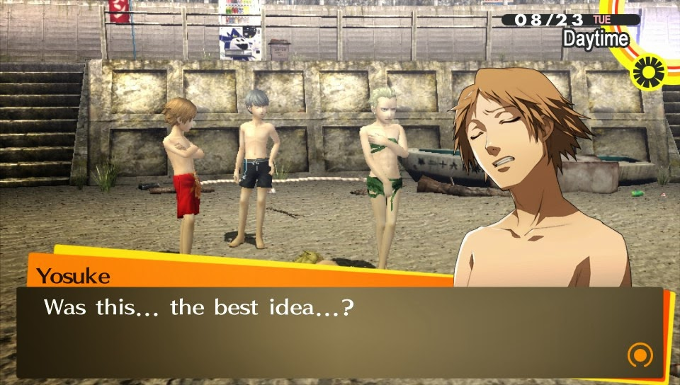 Dating chie persona 4 you should eating