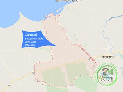 PETA : Kecamatan Sukasari, Kabupaten Subang, Jawa Barat