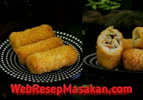 risoles ayam kentang sayur, cara membuat risoles ayam, kentang, wortel, sayur, risoles ayam kentang wortel, resep risoles ayam,
