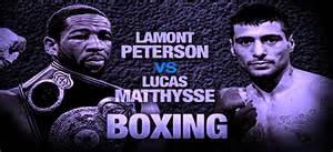 Lamont Peterson vs Lucas Matthysse