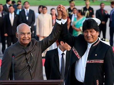President Visited Bolivia