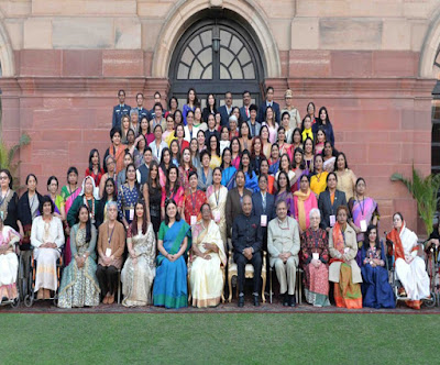The President of India to felicitate exceptional women achievers at Rashtrapati Bhawan