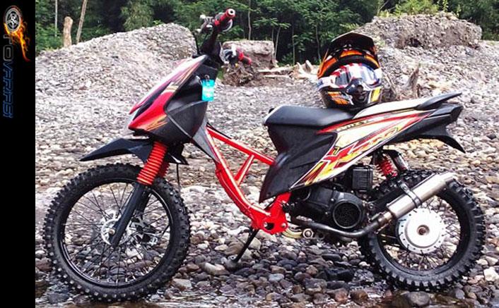Modifikasi Motor Honda Beat Terpopuler 4 Konsep Otomodif