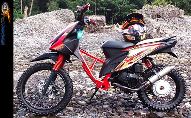 motor honda matic gaya trail
