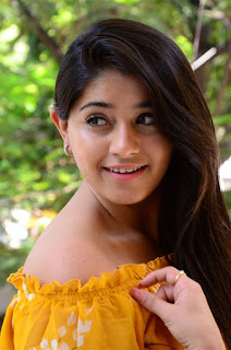 Chandni Bhagwanani in Yellow Dress