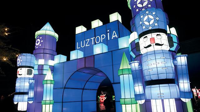 Luztopía, el festival de luces más grande de México