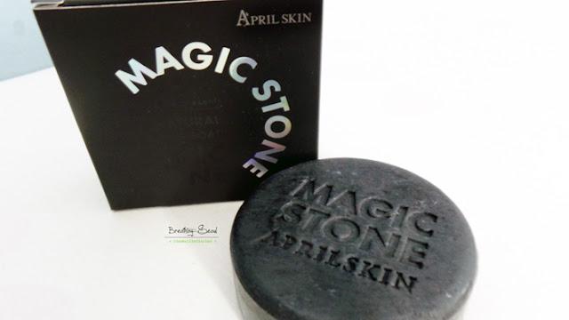 April Skin Magic Stone korean beauty product haul seoul