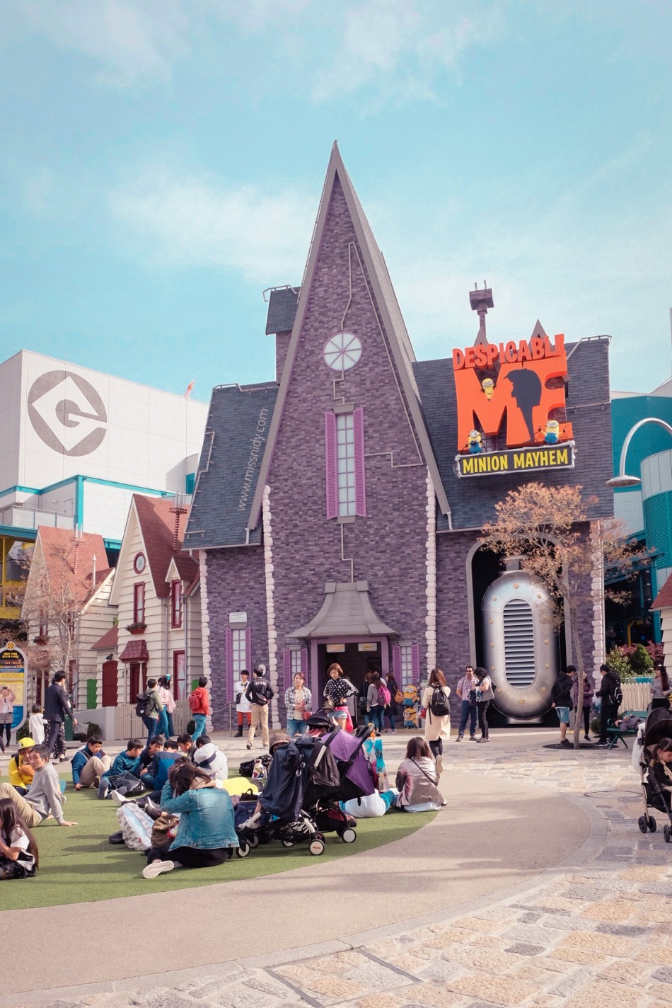 DESPICABLE ME AT UNIVERSAL STUDIO JAPAN