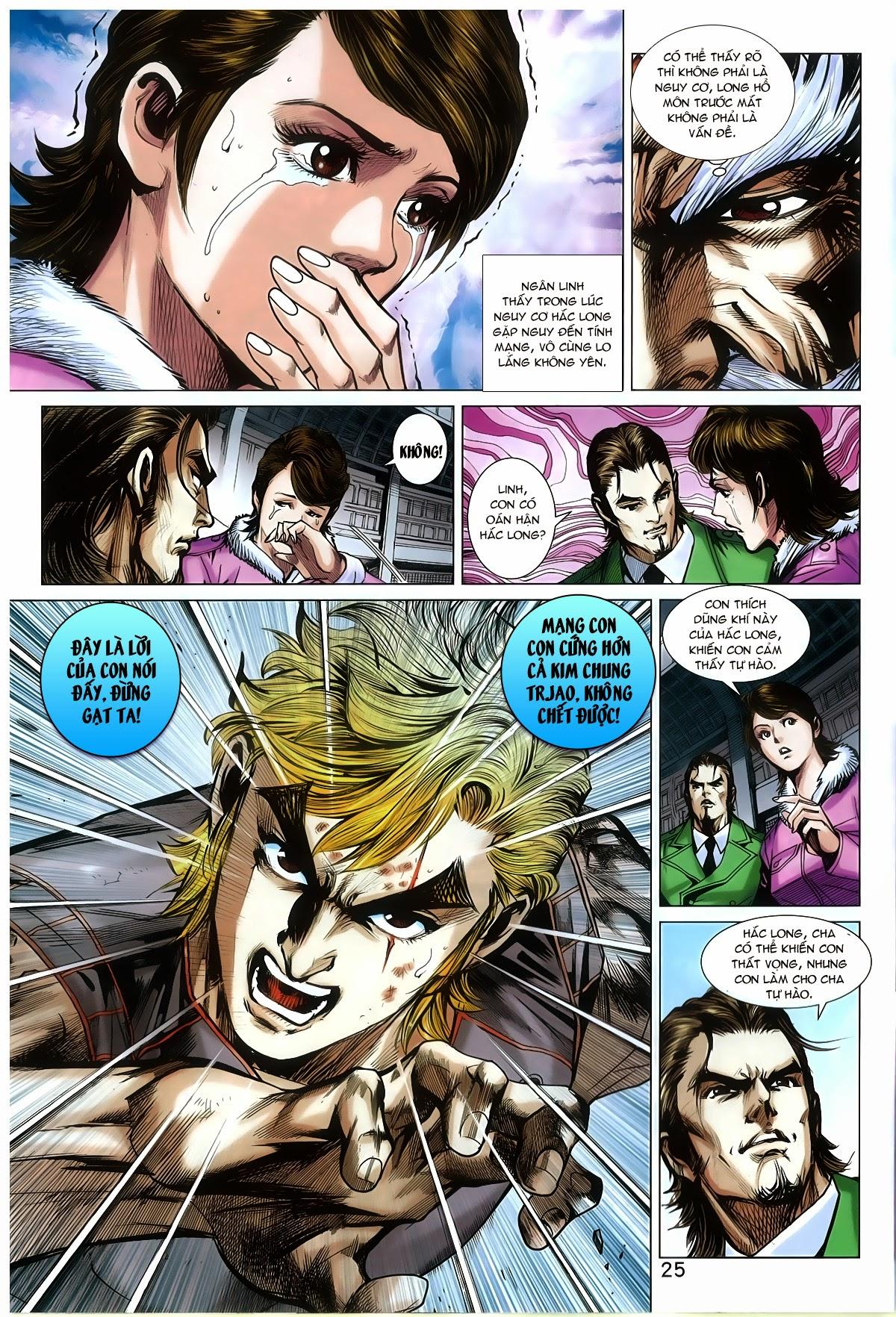 Tân Tác Long Hổ Môn Chap 772 page 24 - Truyentranhaz.net