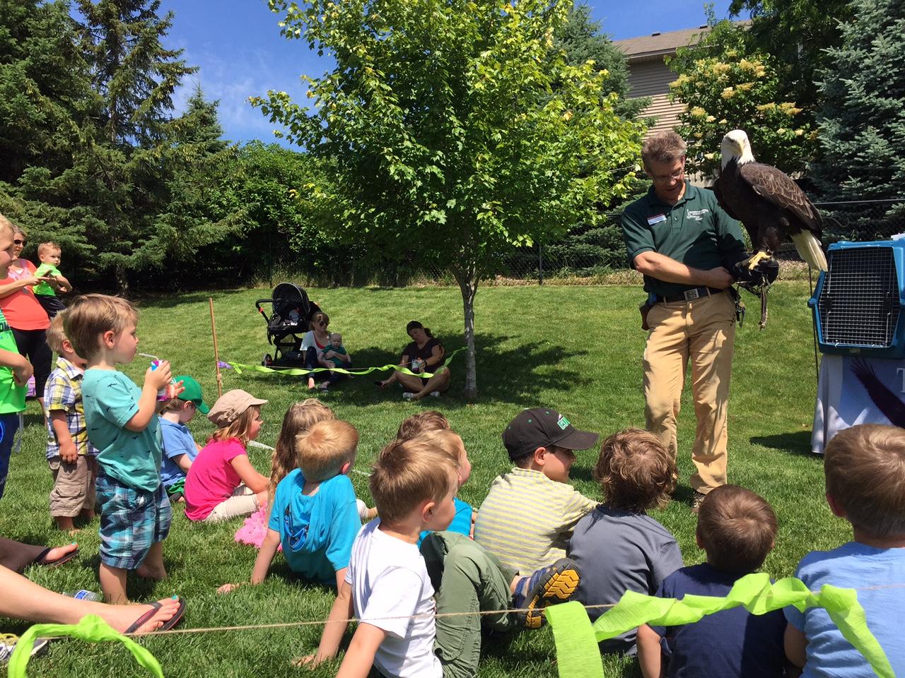 Eastman Nature Center Birthday Parties