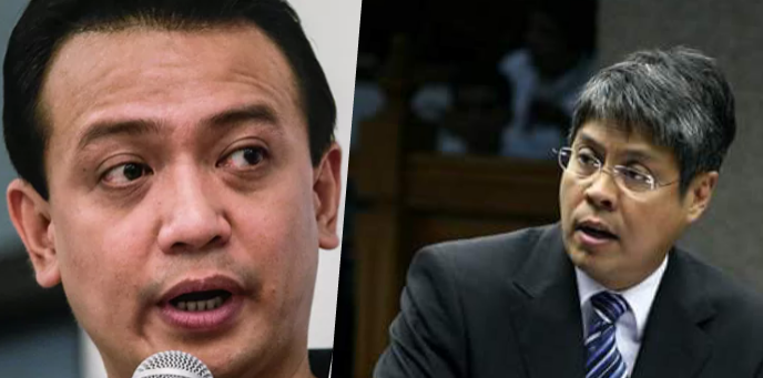 Image result for images for francis pangilinan and antonio trillanes