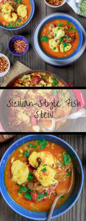 Tasty Sicilian-Style Fish Stew
