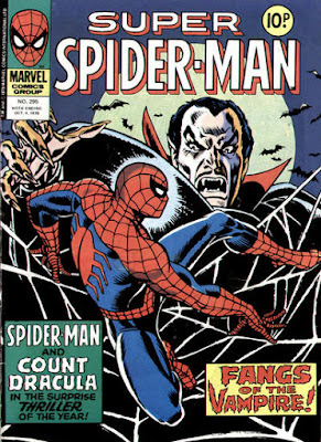 Super Spider-Man #295, Dracula