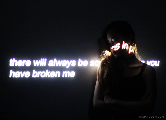 Brunei Blogger May Cho of The Mayden | Projector Photography, Visual, Creative, Quote, tumblr