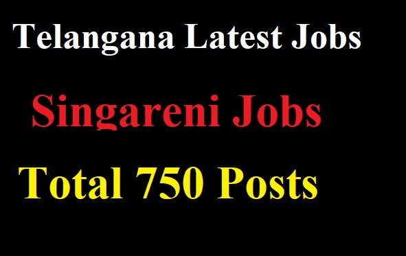 Telangana Singareni Jobs 2017