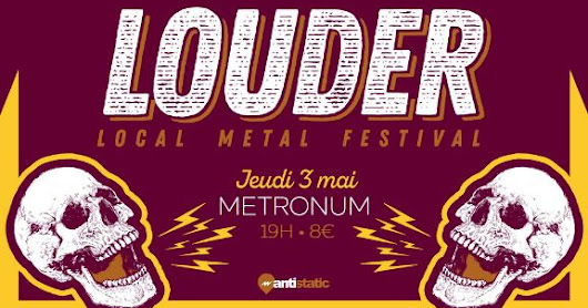 CONCOURS THE LOUDER FEST By COLLECTIF ANTISTATIC