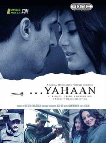 Yahaan 2005 Hindi 720p HDRip 1.1GB