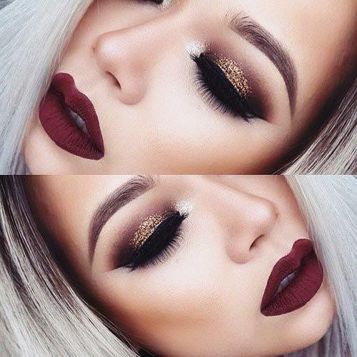 Holiday Makeup Looks, Best Holiday Makeup Looks, Holiday Party Looks, New year party looks, Winter makeup tips, Christmas makeup looks, Makeup,