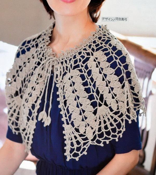 #crochet #pattern #capelet