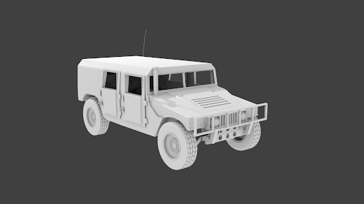 3d models of military vehicles