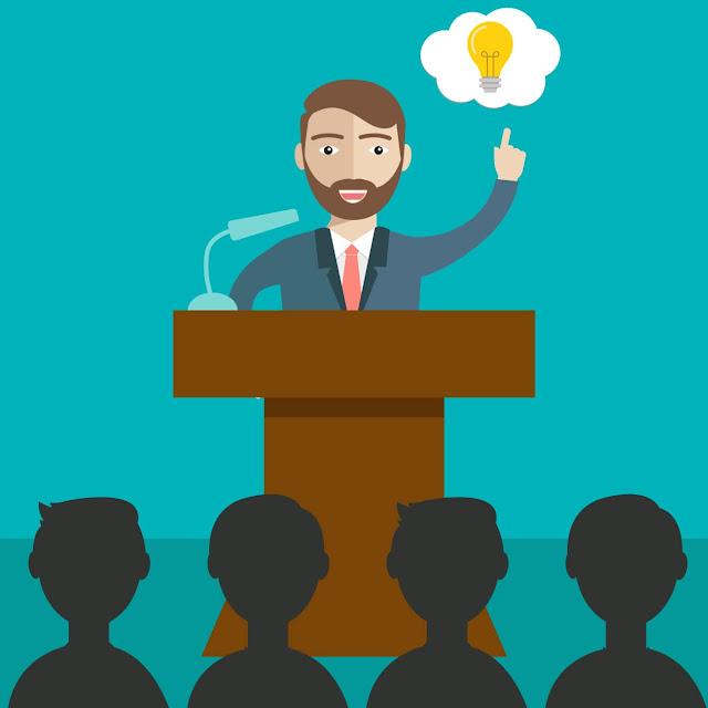 TEKS PIDATO: Pengertian, Tujuan, Jenis, Kriteria Pidato Yang Baik