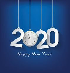 2020 happy new year azul