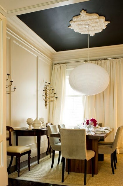 CAD INTERIORS design tips moldings black focal wall paint trimwork