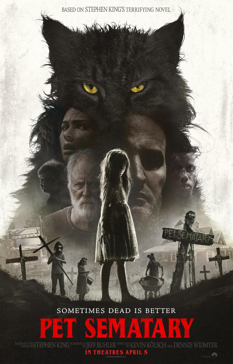 pet sematary 2019 movie poster