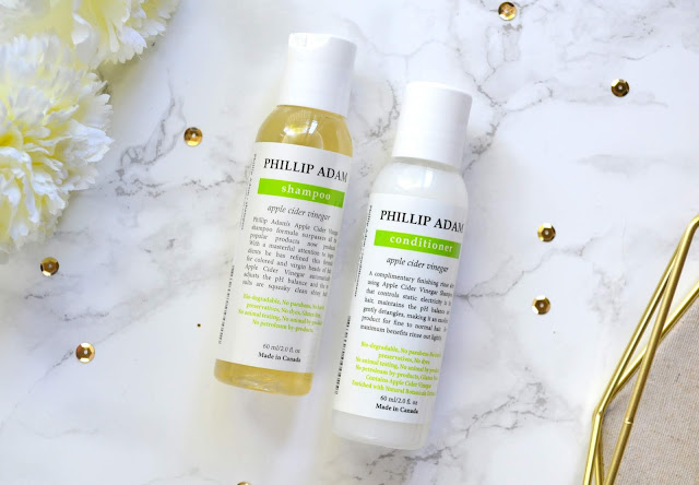 Phillip Adam ACV Shampoo and Conditioner Review